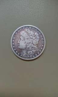 1878年美金1元銀幣