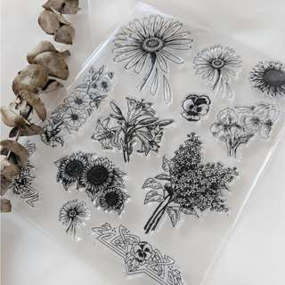 Clear Stamps - Flowers Dreams