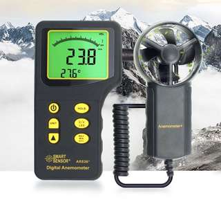Air Flow Multimeter (Anemometer)