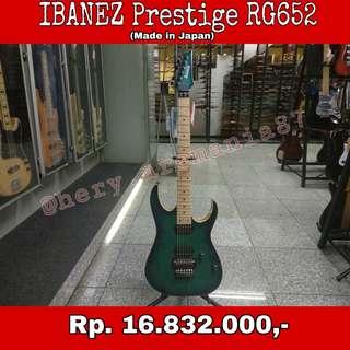 Gitar Ibanez Prestige RG652 Cicilan Tanpa Kartu Kredit