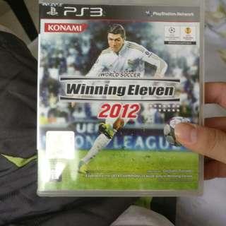 PS3 Games winning eleven 2012