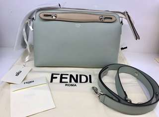 Fendi 拼色 multi-colour By The Way (27cm) (Regular size) (2018 新色粉綠色拼色)