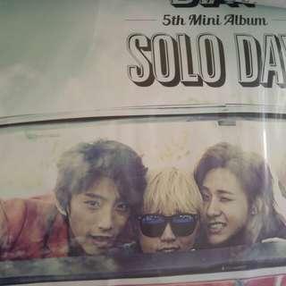 B1a4 solo day 海報
