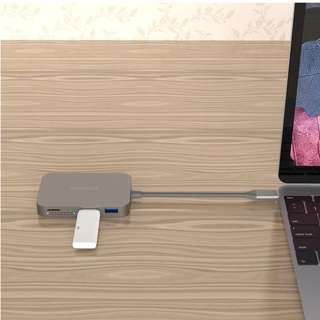 [1 Year Warranty] 7 in 1 USB-C USB C Hub with Type C Power Delivery USB C Thunderbolt 3 4K Video HDMI SD/TF Card Reader for MacBook Pro Windows Android Adapter