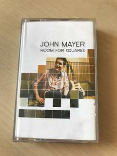 John Mayer Room for squares kaset pita