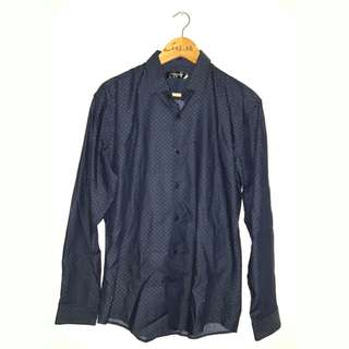 The Executive longleeve shirt navy