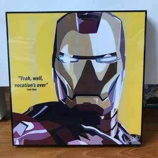 Iron Man Wall Decor