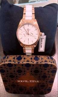 titus女裝陶瓷腕錶。此款式需訂購