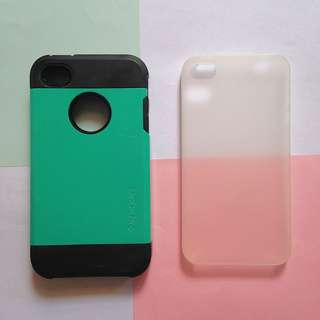 Iphone 4 Hard and Clear Case