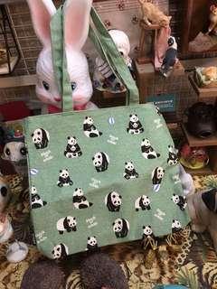 熊貓帆布包