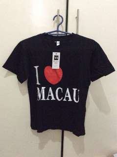 T shirt I love macau