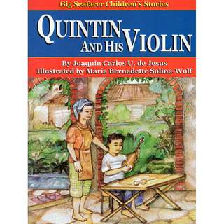 Quintin and His Violin - Gig Seafarer Children's Stories series