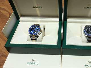 Rolex Submariner Blue Two Tone 2016