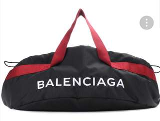 Balenciaga Nylon Plain Boston
