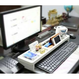 🚚 [Bestseller & FREE Gift] Wooden Desktop Organiser Keep Your Table & Keyboard Neat