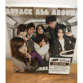 AAA ATTACK ALL AROUND CD DVD