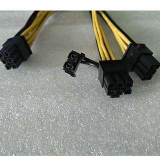 6PIN PCIE TO DUAL 6 PIN