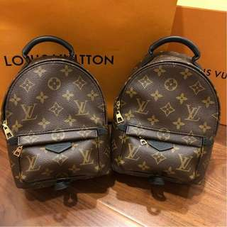 Brand New Louis Vuitton Monogram Mini Palmspring Backpack (HARD TO COME BY)