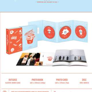 [PO] Got7 - WORKING EAT HOLIDAY IN JEJU DVD