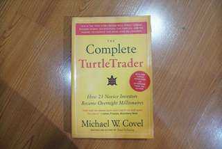 The Complete Turtle Trader by Michael Covel