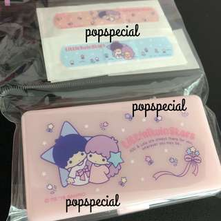 Little Twin Stars Plasters with Case