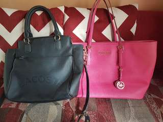 Authentic Michael kors and Lacoste bag