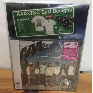 AAA alohAAA! CD DVD T-shirt 袋