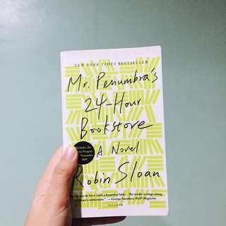 Mr. Penumbra's 24-hour Bookstore, Robin Sloan
