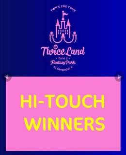 Twiceland Hi Touch!