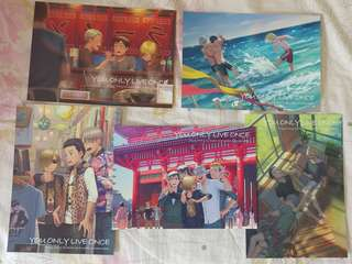 [COS] Yuri on Ice Postcards