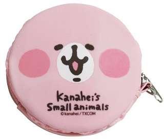 🚚 正版授權 KANAHEI 卡娜赫拉的小動物 兔兔大臉 矽膠錢包