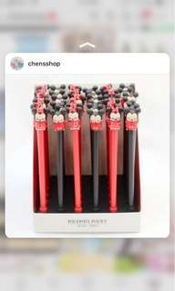 pulpen pena pen mickey and minnie