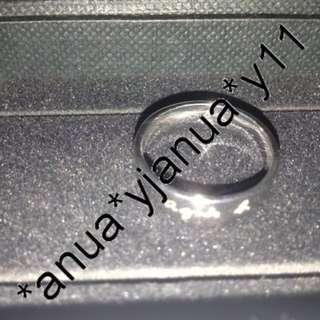 (新品) 真品 Agnes B 純銀戒指 一隻 連盒原價1200