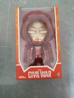 hot toys cosbaby iron man marks VI