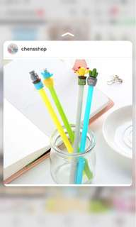 pulpen pena pen cactus