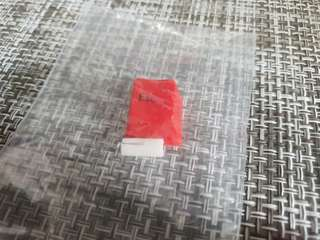 Esc escape key cap red