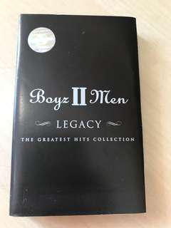 Boyz II Men kaset pita
