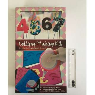 NEW Chocolate, Lollipop Making Kit