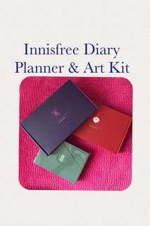 ❗️3 @ $13❗️Innisfree Art Kit & Diary Planner