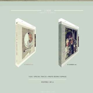 [PO] Jun Jin - The Seasons Revolve 1st Photobook
