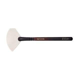 NEW zoeva limited edition burgundy 129 deluxe fan highlighter brush