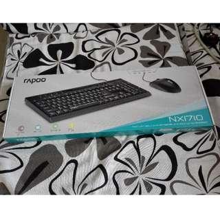 BNIB Rapoo NX1710 Keyboard Mouse Combo