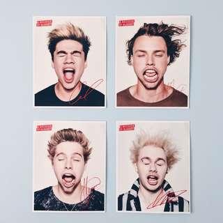 5sos poster set