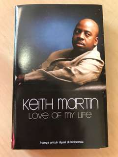 Keith martin love of my life kaset pita