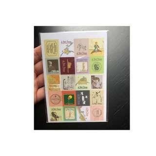 Le Petit Prince Stickers (80pcs)