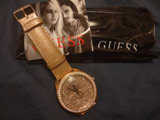 100% new and authentic guess watch