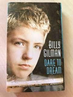 Billy gilman Dare to Dream kaset pita