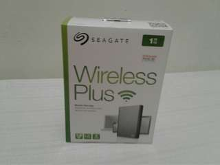 seagate wireless plus 1 tera hardrive sealed