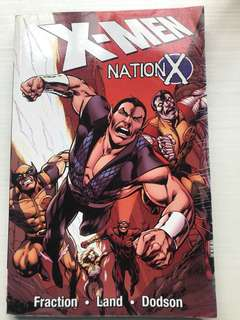 Marvel X-Men Nation X