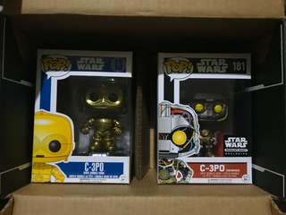 C-3PO set